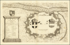 Austria Map By Vincenzo Maria Coronelli