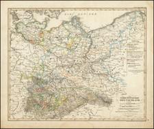 Map By Adolf Stieler