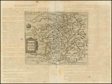 France Map By Johannes Matalius Metellus