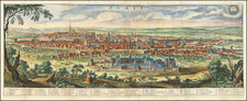 Paris Map By Matthaus Merian