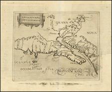 Southwest, Baja California and California Map By Johannes Matalius Metellus
