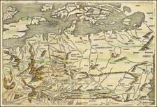Europe, British Isles, Netherlands, Austria, Poland, Russia, Ukraine, Romania, Czech Republic & Slovakia, Scandinavia and Germany Map By Hartmann Schedel