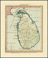 Sri Lanka Map By John Luffman