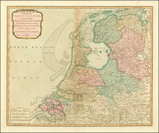 Netherlands Map By Laurie & Whittle