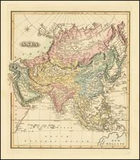 Asia Map By Fielding Lucas Jr.