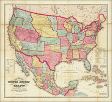 United States Map By Carlos Butterfield