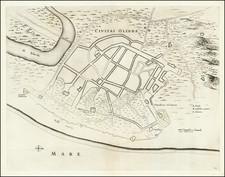 Brazil Map By Johannes Blaeu / Georg Marcgraf