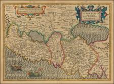 Holy Land Map By Jodocus Hondius