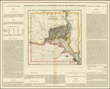 Washington, D.C. Map By Henry Charles Carey  &  Isaac Lea