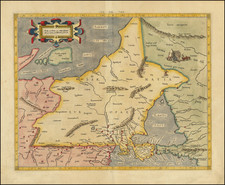 Poland, Ukraine and Baltic Countries Map By  Gerard Mercator