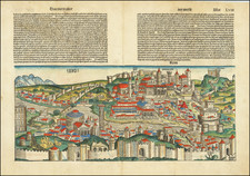 Rome Map By Hartmann Schedel