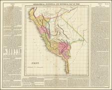 Peru & Ecuador Map By Henry Charles Carey  &  Isaac Lea