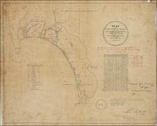 San Diego Map By Henry Hancock / L.L. Lockling