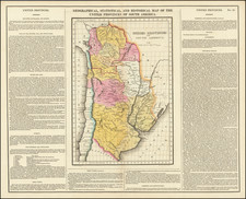 Argentina and Paraguay & Bolivia Map By Henry Charles Carey  &  Isaac Lea