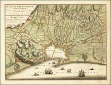 Spain Map By Nicolaes Visscher II