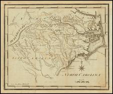 North Carolina Map By Joseph Scott
