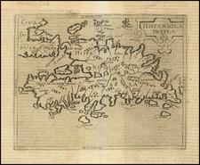 Hispaniola Map By Johannes Matalius Metellus