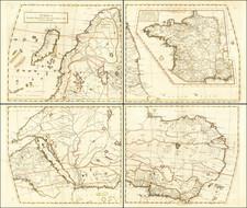 Africa Map By Giovanni Battista Nicolosi