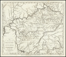 Kentucky, Tennessee and Ohio Map By John Payne