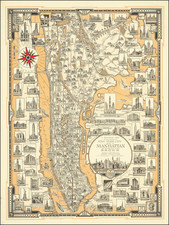 New York City and Pictorial Maps Map By Ernest Dudley Chase