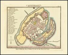 Denmark Map By John Luffman