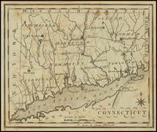 Connecticut Map By Joseph Scott