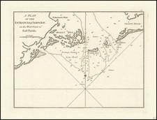 Florida Map By Sayer & Bennett