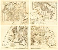 Europe Map By Giovanni Battista Nicolosi