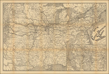 Midwest, Plains and Rocky Mountains Map By Emil Heubach