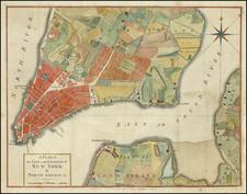 New York City Map By Universal Magazine