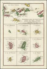 Virgin Islands and Other Islands Map By Rigobert Bonne