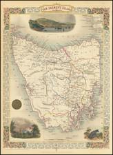 Van Diemen's Island or Tasmania By John Tallis