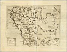 South America and Peru & Ecuador Map By Johannes Matalius Metellus