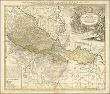 Croatia & Slovenia Map By Homann Heirs