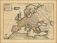 Europe Map By Pierre Mortier