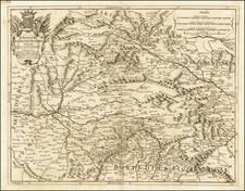 Spain Map By Giacomo Giovanni Rossi / Giacomo Cantelli da Vignola
