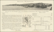 Washington Map By The Clise Investment Company