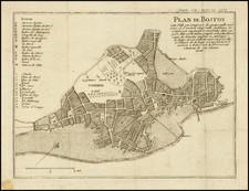 Boston Map By Everard Kints