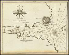 Sardinia Map By William Heather