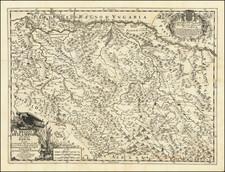 Serbia & Montenegro Map By Giacomo Giovanni Rossi - Giacomo Cantelli da Vignola