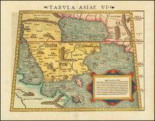 Middle East and Arabian Peninsula Map By Sebastian Munster
