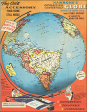 World Map By Hammond & Co.