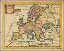 Europe Map By Sir Jonas Moore