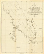 Arabian Peninsula, Egypt and North Africa Map By William Miller