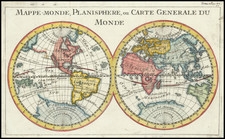World and California as an Island Map By Daniel de La Feuille