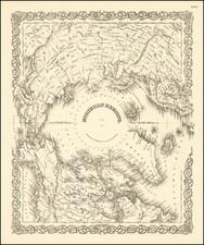 Polar Maps Map By Joseph Hutchins Colton