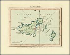 British Isles and England Map By John Luffman