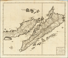 Singapore, Indonesia and Malaysia Map By Francois Valentijn