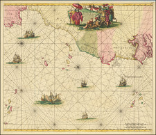 North Africa and West Africa Map By Frederick De Wit