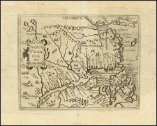 Canada and Eastern Canada Map By Johannes Matalius Metellus